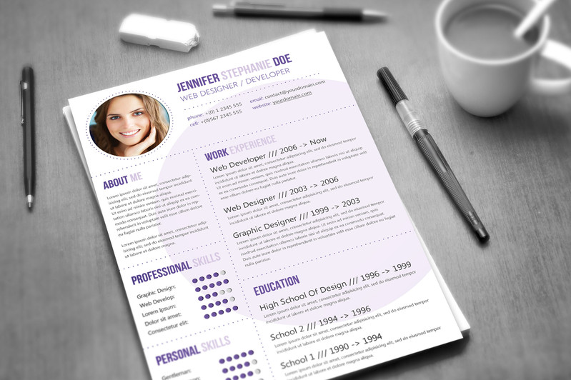 make a new resume