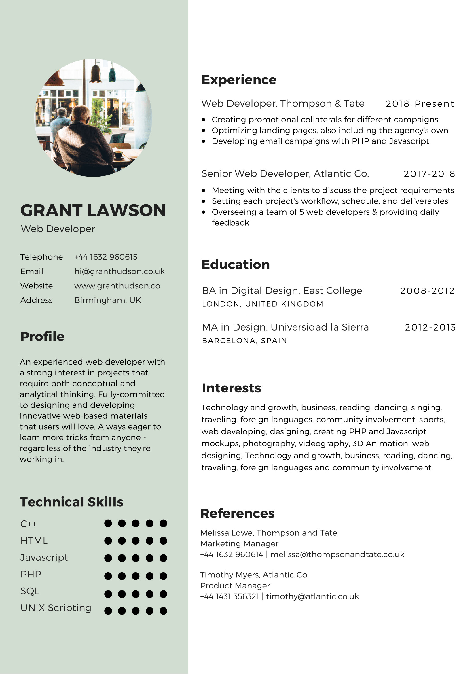 A Guide To Designing A Cv As Kickass As You Are Glints