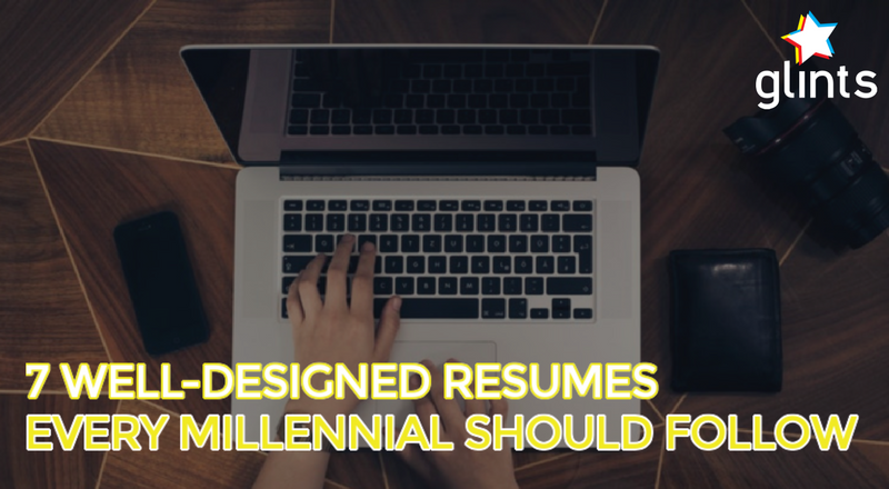 7 Well Designed Resume Samples Every Millennial Needs To See