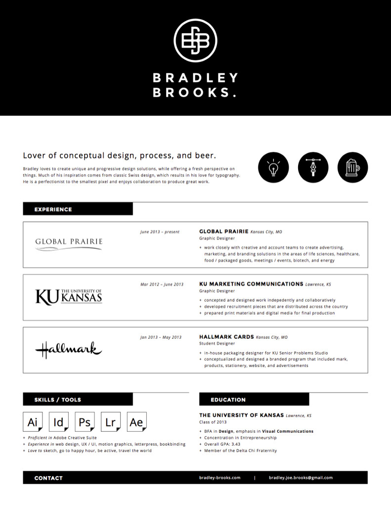 7 well designed resume samples every millennial needs to