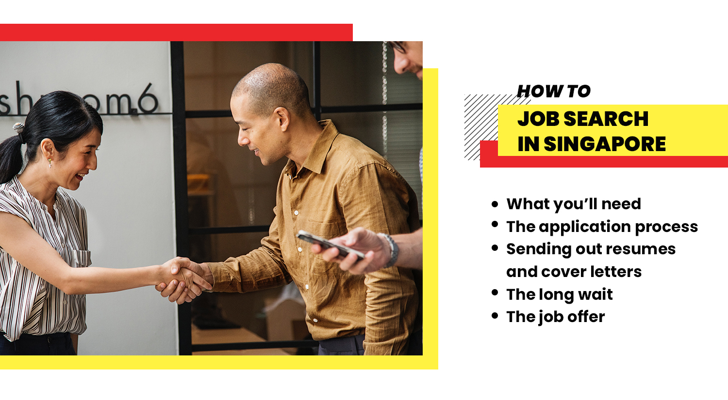 how to job search in Singapore